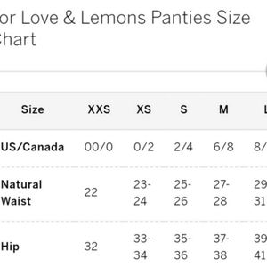 For Love And Lemons Intimates & Sleepwear - 🍒Harper Ruffle thong🍒